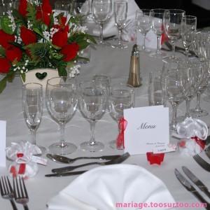 D coration de la salle de r ception pour un mariage - Comment disposer les tables pour un mariage ...